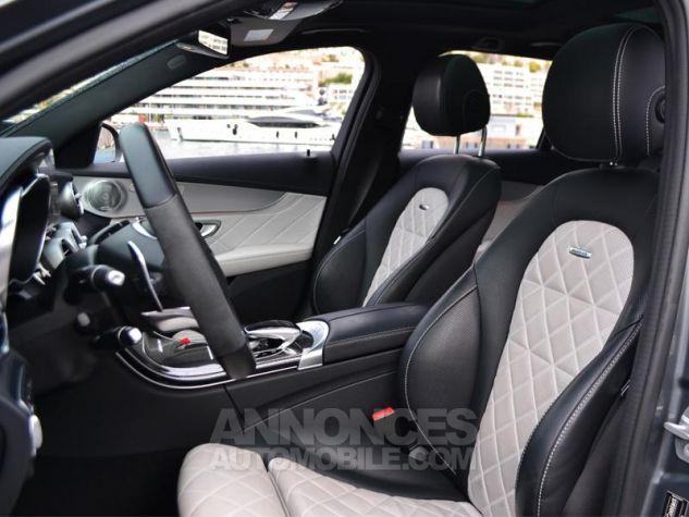 Mercedes Classe C Break 63 AMG S Speedshift MCT AMG Gris Selenite Occasion - 4