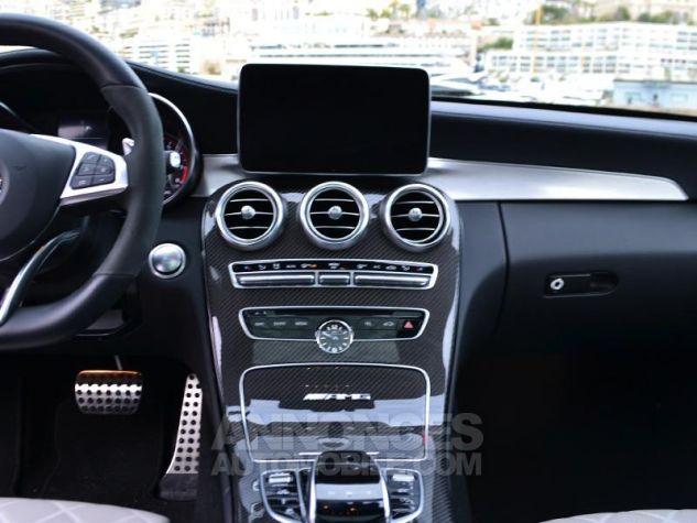 Mercedes Classe C Break 63 AMG S Speedshift MCT AMG Gris Selenite Occasion - 10