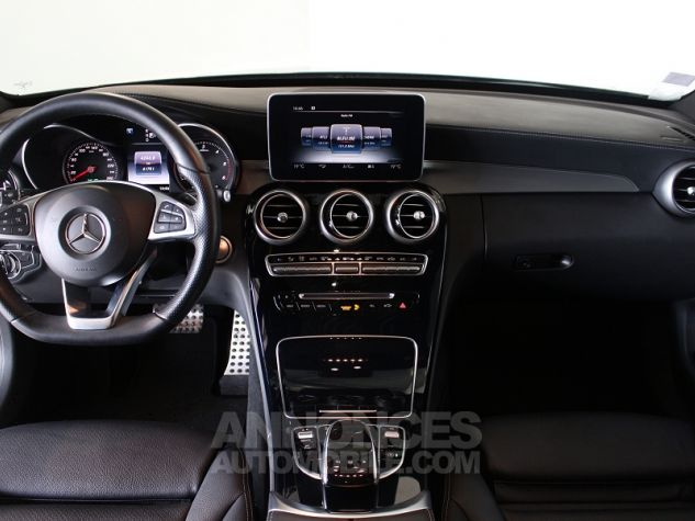 Mercedes Classe C BREAK (S205) 220 BLUETEC SPORTLINE 7G-TRONIC PLUS Gris Occasion - 4