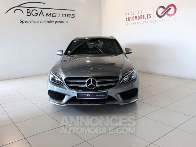 Mercedes Classe C BREAK (S205) 220 BLUETEC SPORTLINE 7G-TRONIC PLUS Gris Occasion - 14