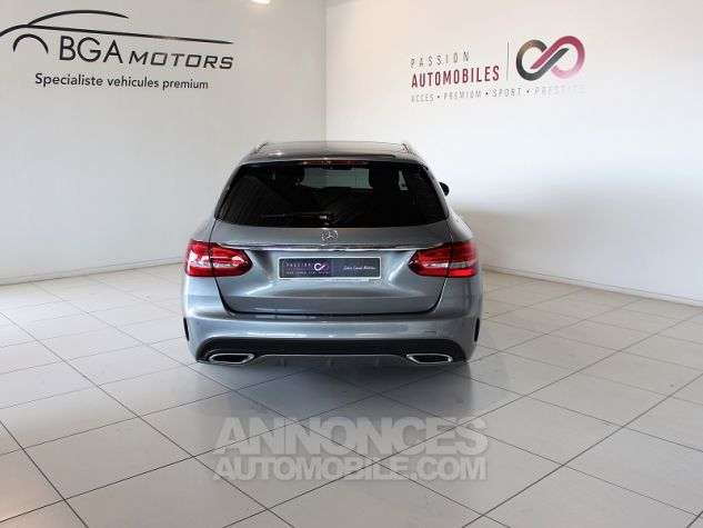 Mercedes Classe C BREAK (S205) 220 BLUETEC SPORTLINE 7G-TRONIC PLUS Gris Occasion - 15