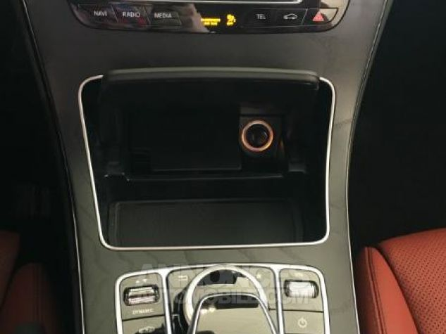 Mercedes Classe C Cabriolet 220 d 170ch Sportline 9G-Tronic BLANC DIAMANT Occasion - 11