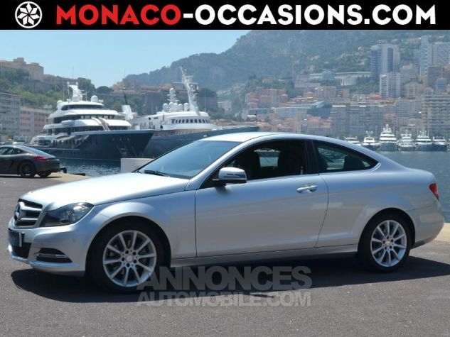Mercedes Classe C Coupe 220 CDI 7GTronic Gris Occasion - 0