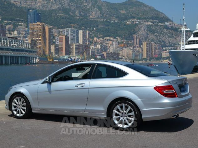 Mercedes Classe C Coupe 220 CDI 7GTronic Gris Occasion - 8