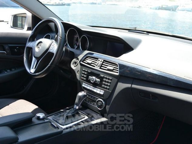 Mercedes Classe C Coupe 220 CDI 7GTronic Gris Occasion - 11