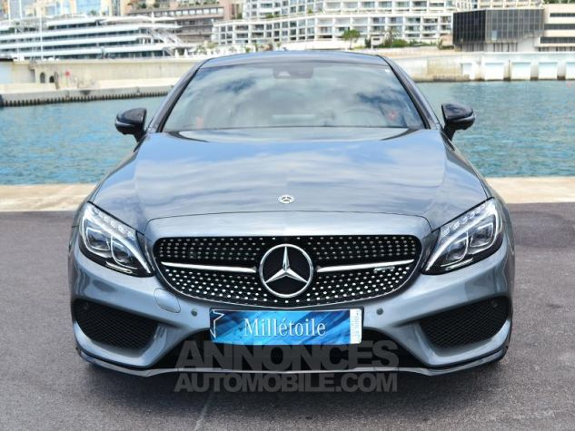 Mercedes Classe C Coupe 43 AMG 367ch 4Matic 9G-Tronic Gris Selenite Occasion - 1