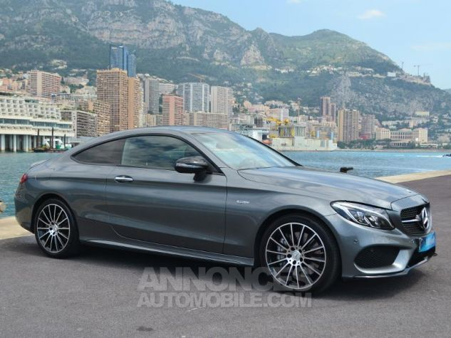 Mercedes Classe C Coupe 43 AMG 367ch 4Matic 9G-Tronic Gris Selenite Occasion - 2