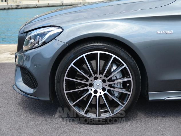 Mercedes Classe C Coupe 43 AMG 367ch 4Matic 9G-Tronic Gris Selenite Occasion - 6