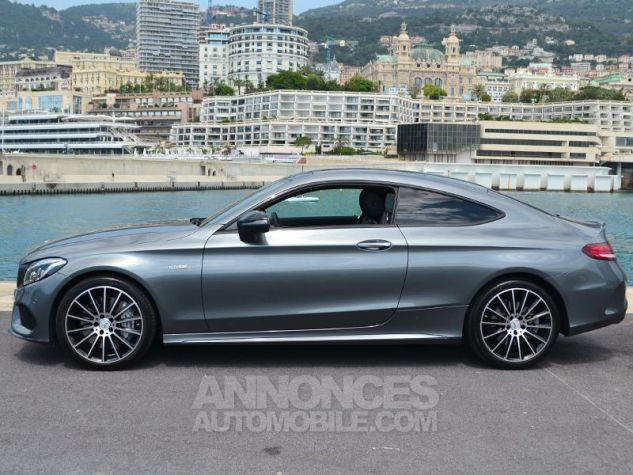 Mercedes Classe C Coupe 43 AMG 367ch 4Matic 9G-Tronic Gris Selenite Occasion - 7