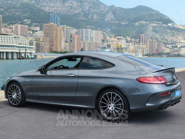 Mercedes Classe C Coupe 43 AMG 367ch 4Matic 9G-Tronic Gris Selenite Occasion - 8
