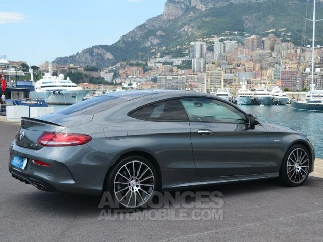 Mercedes Classe C Coupe 43 AMG 367ch 4Matic 9G-Tronic Gris Selenite Occasion - 10