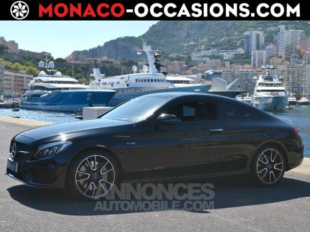 Mercedes Classe C Coupe 43 AMG 367ch 4Matic 9G-Tronic Noir Occasion - 0