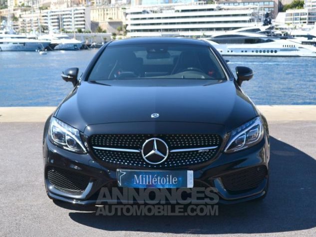 Mercedes Classe C Coupe 43 AMG 367ch 4Matic 9G-Tronic Noir Occasion - 1