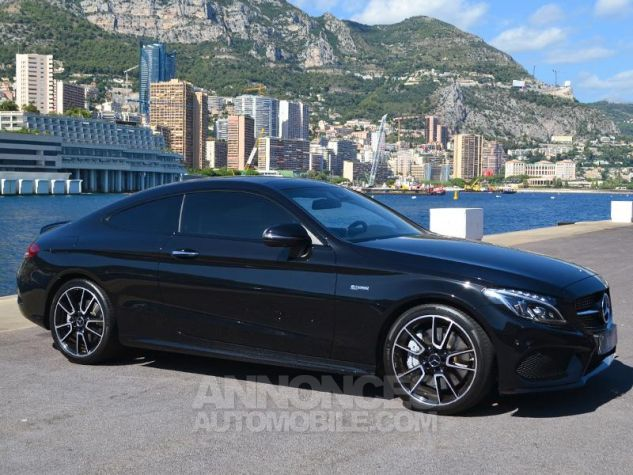 Mercedes Classe C Coupe 43 AMG 367ch 4Matic 9G-Tronic Noir Occasion - 2