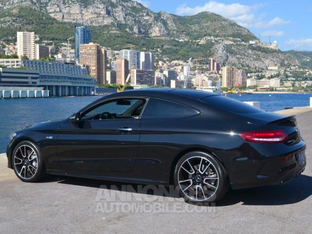 Mercedes Classe C Coupe 43 AMG 367ch 4Matic 9G-Tronic Noir Occasion - 8