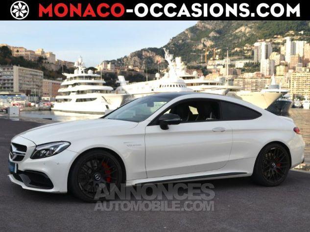 Mercedes Classe C Coupe 63 AMG S 510ch Speedshift MCT Blanc Diamant Bright Designo Occasion - 0