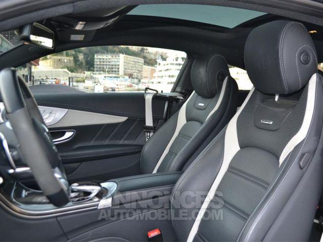 Mercedes Classe C Coupe 63 AMG S 510ch Speedshift MCT Blanc Diamant Bright Designo Occasion - 4
