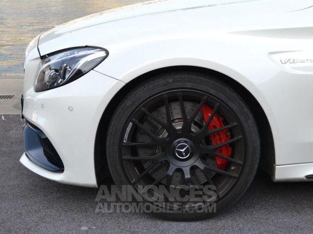 Mercedes Classe C Coupe 63 AMG S 510ch Speedshift MCT Blanc Diamant Bright Designo Occasion - 6