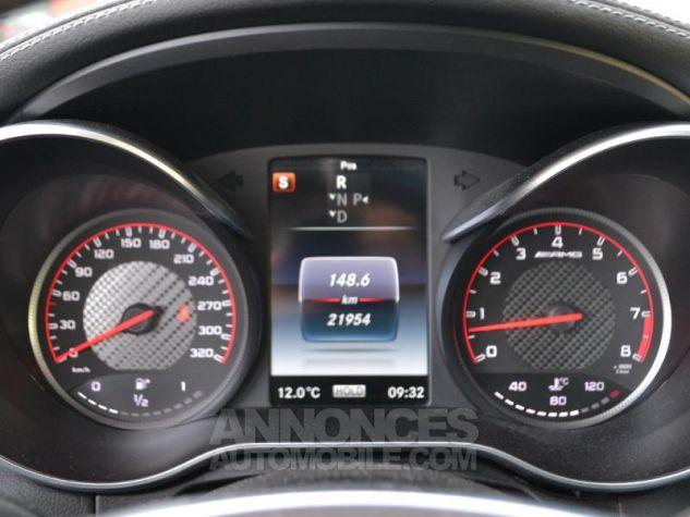Mercedes Classe C Coupe 63 AMG S 510ch Speedshift MCT Blanc Diamant Bright Designo Occasion - 12