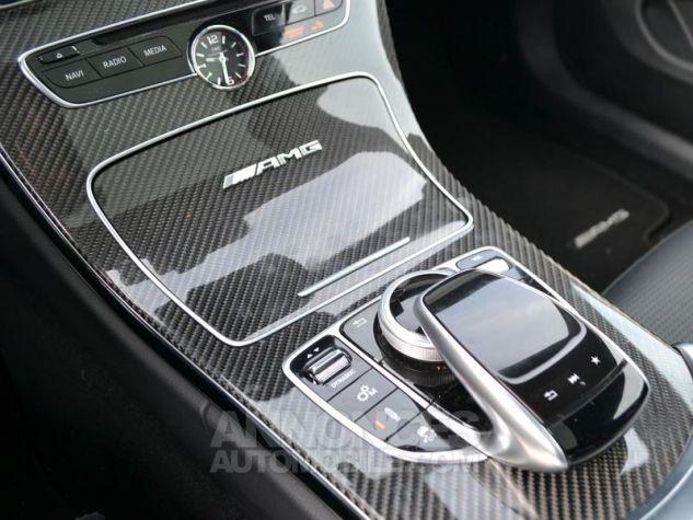 Mercedes Classe C Coupe 63 AMG S 510ch Speedshift MCT Blanc Diamant Bright Designo Occasion - 15