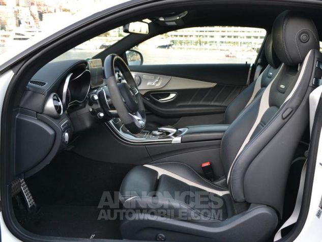 Mercedes Classe C Coupe 63 AMG S 510ch Speedshift MCT Blanc Diamant Bright Designo Occasion - 16