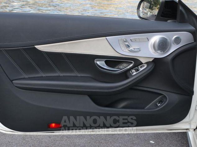 Mercedes Classe C Coupe 63 AMG S 510ch Speedshift MCT Blanc Diamant Bright Designo Occasion - 18