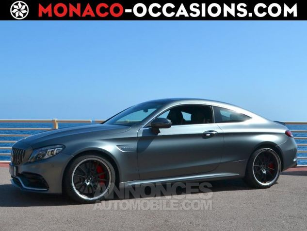 Mercedes Classe C Coupe 63 AMG S 510ch Speedshift MCT AMG Euro6d-T Gris Mat Occasion - 0