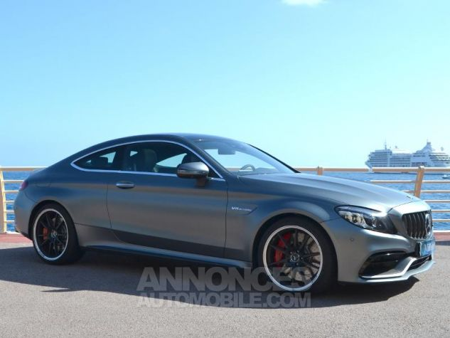 Mercedes Classe C Coupe 63 AMG S 510ch Speedshift MCT AMG Euro6d-T Gris Mat Occasion - 2