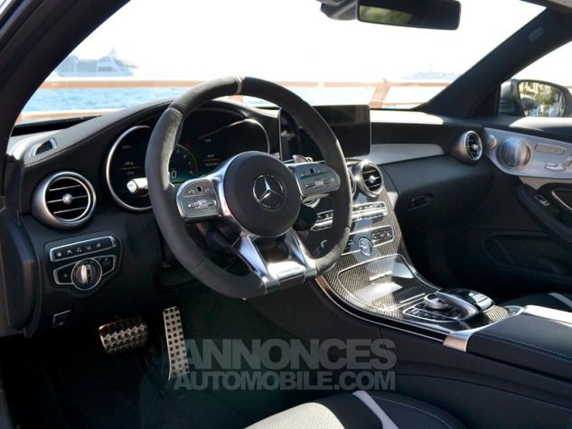Mercedes Classe C Coupe 63 AMG S 510ch Speedshift MCT AMG Euro6d-T Gris Mat Occasion - 3
