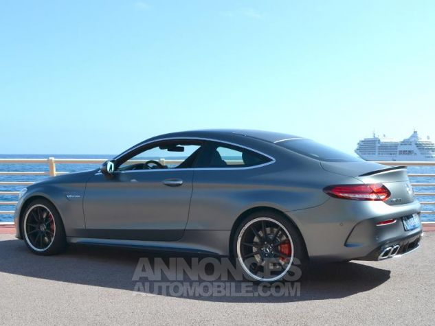 Mercedes Classe C Coupe 63 AMG S 510ch Speedshift MCT AMG Euro6d-T Gris Mat Occasion - 8