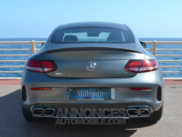 Mercedes Classe C Coupe 63 AMG S 510ch Speedshift MCT AMG Euro6d-T Gris Mat Occasion - 9