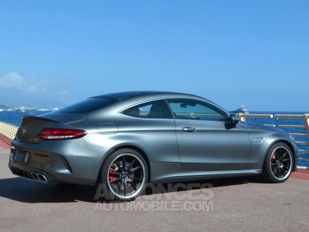 Mercedes Classe C Coupe 63 AMG S 510ch Speedshift MCT AMG Euro6d-T Gris Mat Occasion - 10