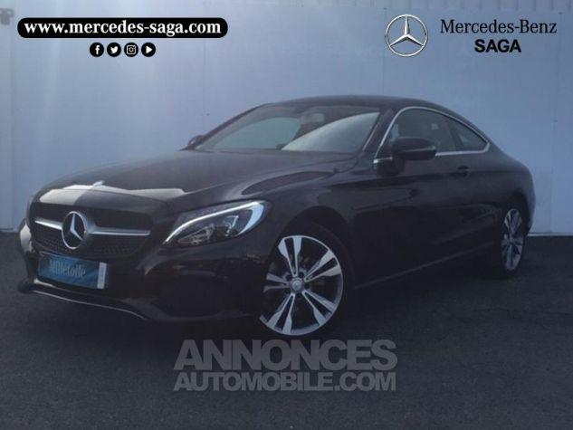 Mercedes Classe C Coupe Sport 180 156ch Executive 7G-Tronic Plus NOIR Occasion - 0