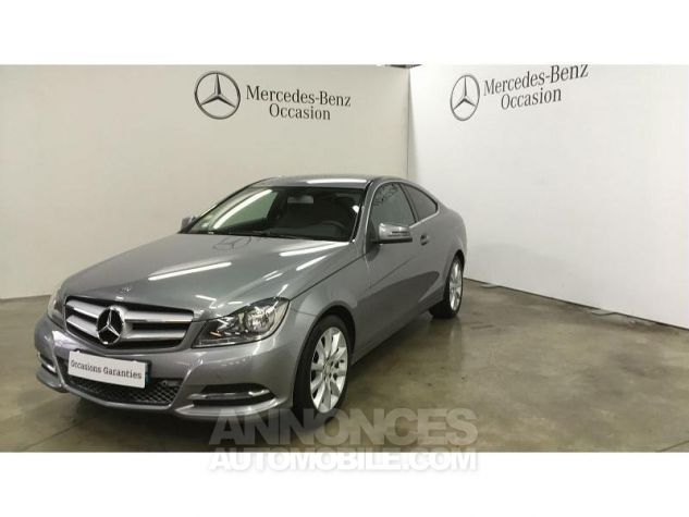 Mercedes Classe C Coupe Sport 220 CDI Executive Argent Palladium Occasion - 0