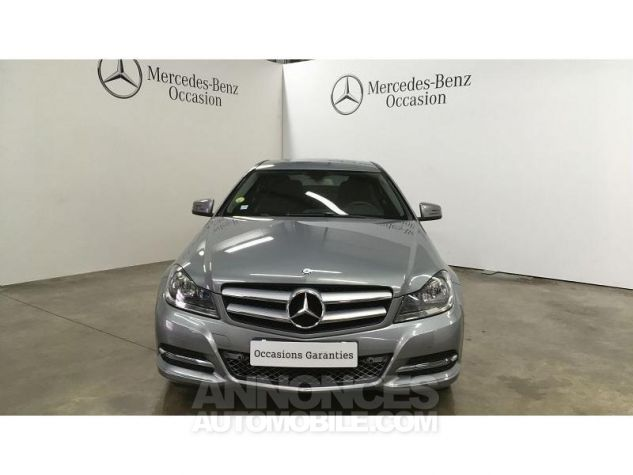 Mercedes Classe C Coupe Sport 220 CDI Executive Argent Palladium Occasion - 8