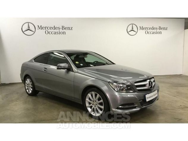 Mercedes Classe C Coupe Sport 220 CDI Executive Argent Palladium Occasion - 10