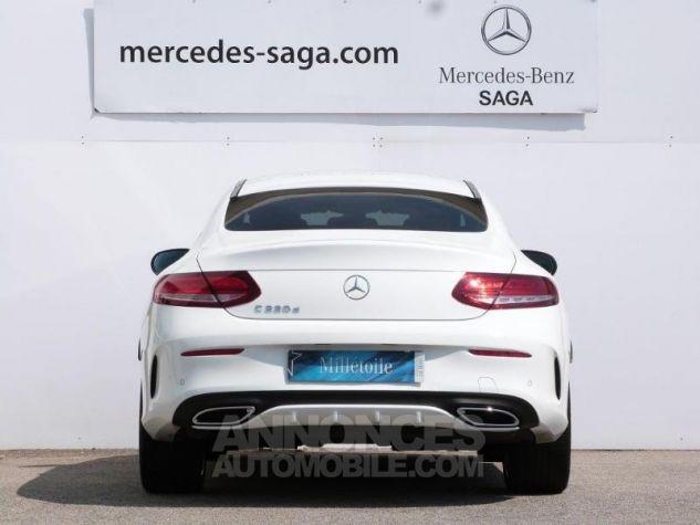 Mercedes Classe C Coupe Sport 220 d 170ch Sportline 9G-Tronic Blanc Polaire Occasion - 5