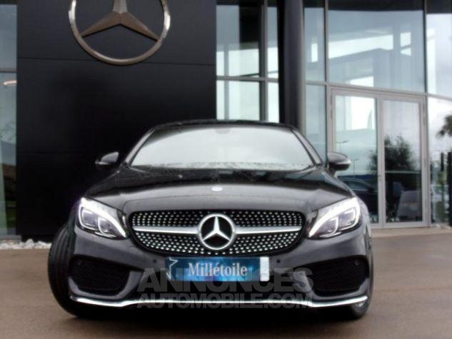 Mercedes Classe C Coupe Sport 220 d 170ch Sportline 9G-Tronic NOIR OBSIDIENNE Occasion - 10