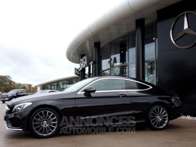 Mercedes Classe C Coupe Sport 220 d 170ch Sportline 9G-Tronic NOIR OBSIDIENNE Occasion - 12
