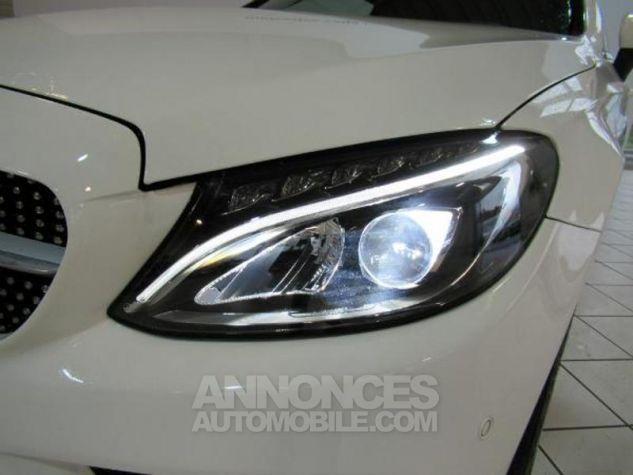Mercedes Classe C Coupe Sport 220 d 170ch Sportline 9G-Tronic Blanc Occasion - 14