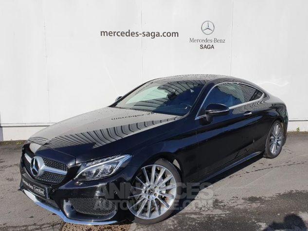 Mercedes Classe C Coupe Sport 220 d 170ch Sportline 9G-Tronic Noir Obsidienne Métallisé Occasion - 0