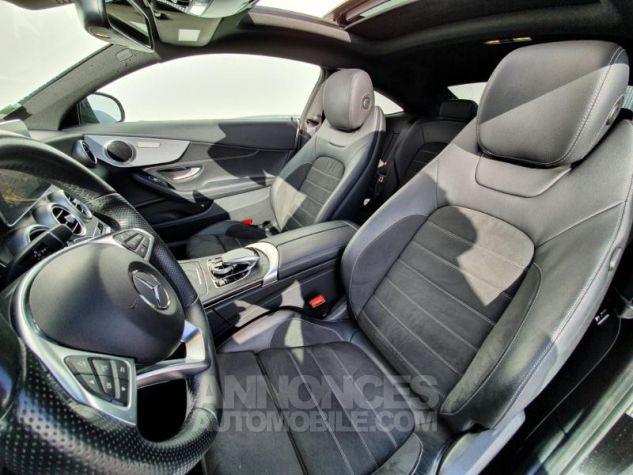 Mercedes Classe C Coupe Sport 220 d 170ch Sportline 9G-Tronic Noir Obsidienne Métallisé Occasion - 3