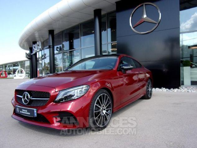 Mercedes Classe C Coupe Sport 220 d 194ch AMG Line 9G-Tronic Euro6d-T Rouge jacinthe designo métalli Occasion - 0