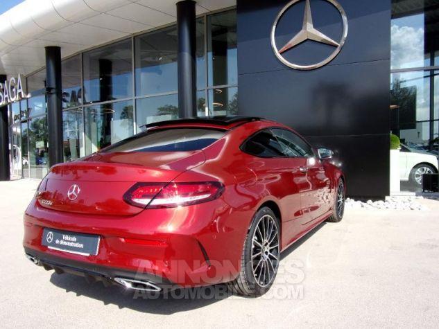 Mercedes Classe C Coupe Sport 220 d 194ch AMG Line 9G-Tronic Euro6d-T Rouge jacinthe designo métalli Occasion - 1