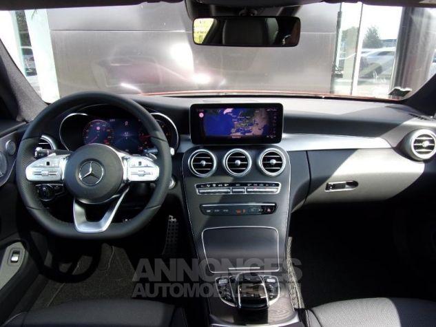 Mercedes Classe C Coupe Sport 220 d 194ch AMG Line 9G-Tronic Euro6d-T Rouge jacinthe designo métalli Occasion - 2