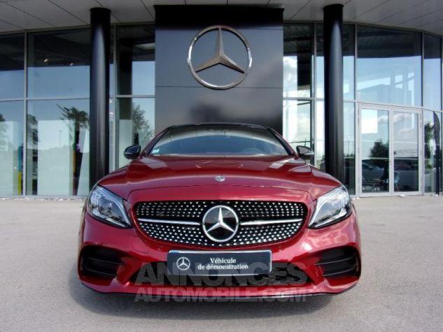 Mercedes Classe C Coupe Sport 220 d 194ch AMG Line 9G-Tronic Euro6d-T Rouge jacinthe designo métalli Occasion - 3