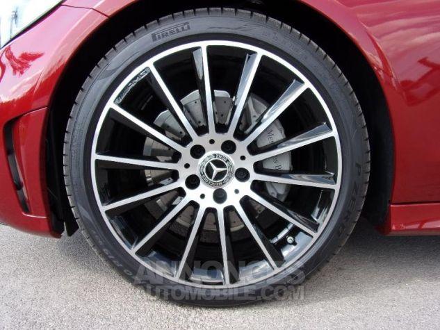 Mercedes Classe C Coupe Sport 220 d 194ch AMG Line 9G-Tronic Euro6d-T Rouge jacinthe designo métalli Occasion - 4