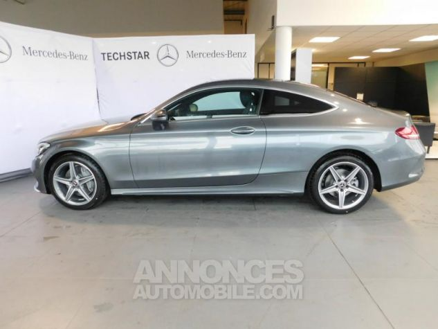 Mercedes Classe C Coupe Sport 250 d 204ch Fascination 9G-Tronic GRIS SELENITE Occasion - 3