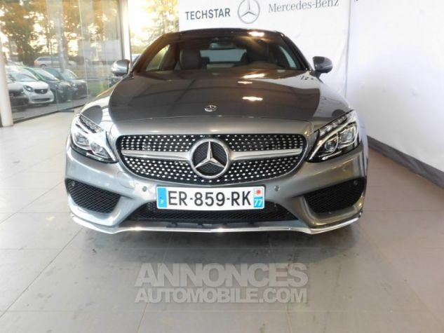 Mercedes Classe C Coupe Sport 250 d 204ch Fascination 9G-Tronic GRIS SELENITE Occasion - 10