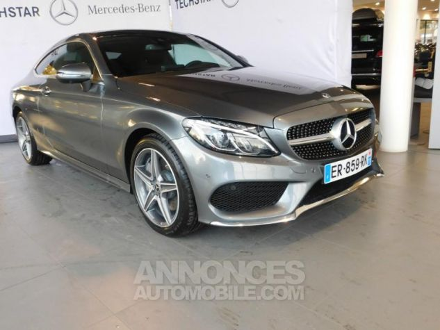Mercedes Classe C Coupe Sport 250 d 204ch Fascination 9G-Tronic GRIS SELENITE Occasion - 11